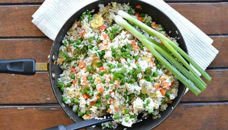 Best Procedure of Cooking Fried Vegetable, Rice Meal, Recipe for Kenyans