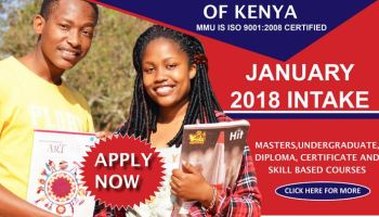 University and Colleges in Kenya online application for