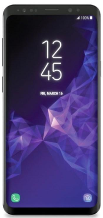 The Samsung galaxy S9 Plus