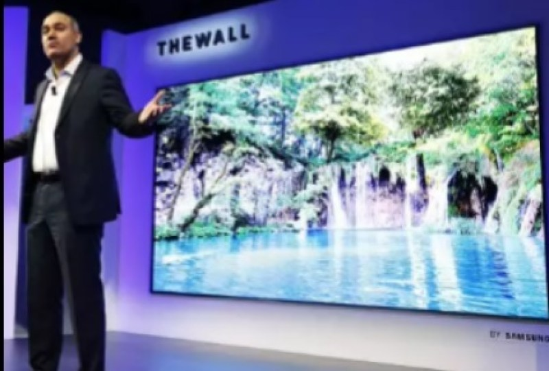 Presentation of The Wall at CES 2018