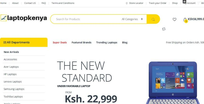 Laptop Kenya  is the top supplier of computers to students in Nairobi