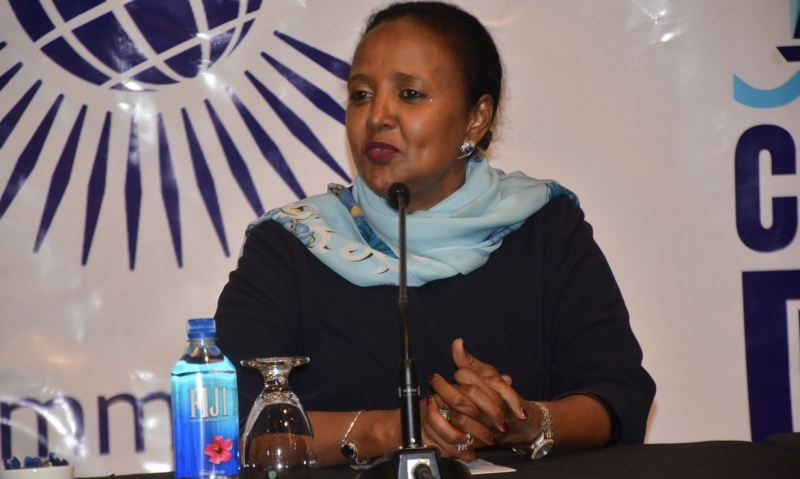 Education Cabinet Secretary (CS) Amina Mohamed's on Joining university and doing degree course with Grade
