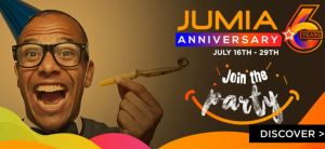 Jumia 6th year 2018 anniversary deals and offers promotions