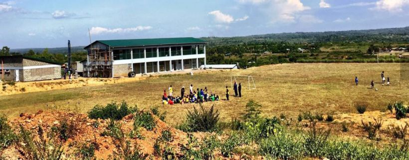 Sauti Kuu Foundation sports recreation center started by Auma Obama