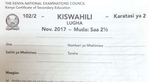 A guide on how pass kiswahili kcse exams and sample past paper, pdf can be downloaded online, kidato cha