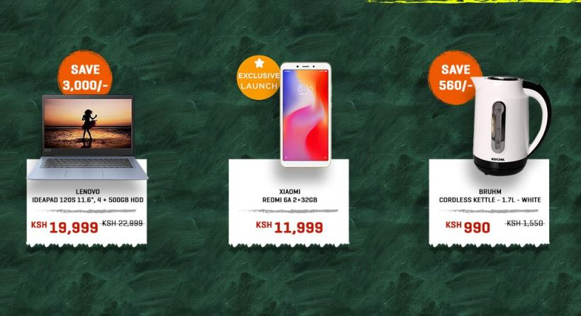 Jumia back to school laptop deals for college and university first year students