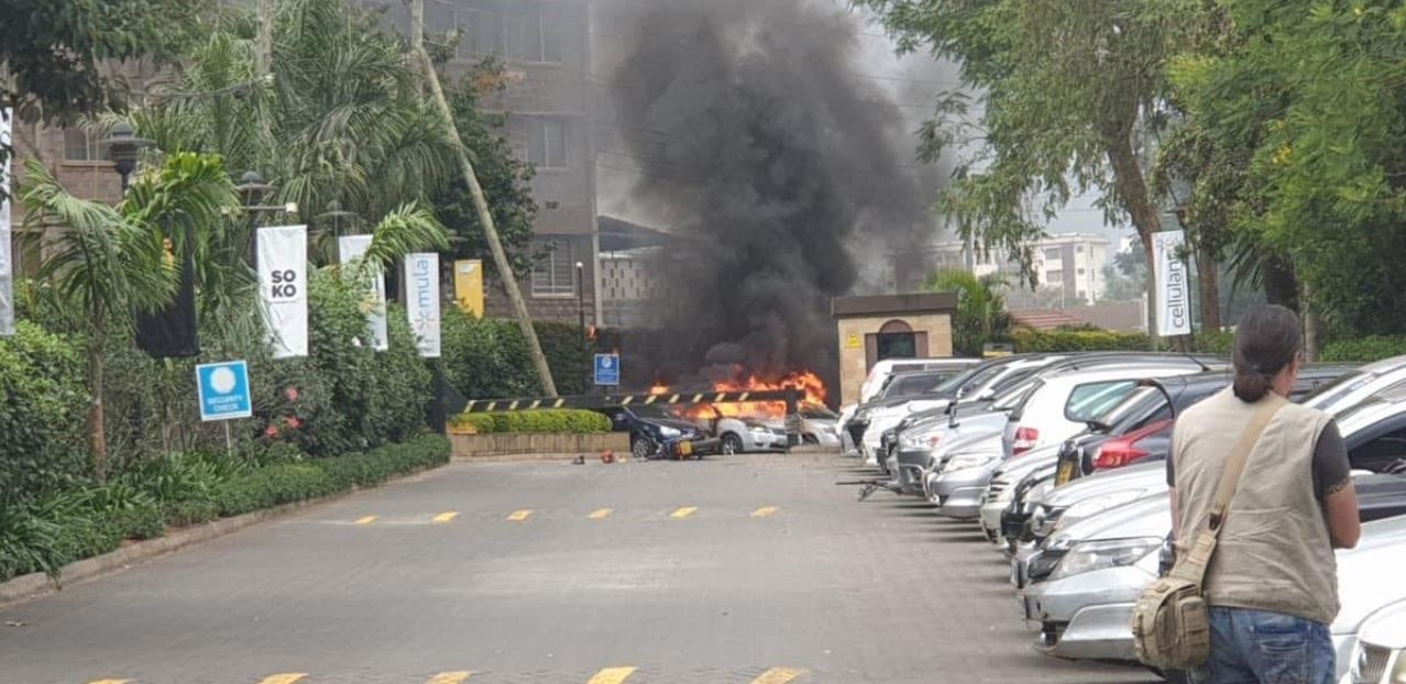 More images from Riverside 14 attack in Westlands area
