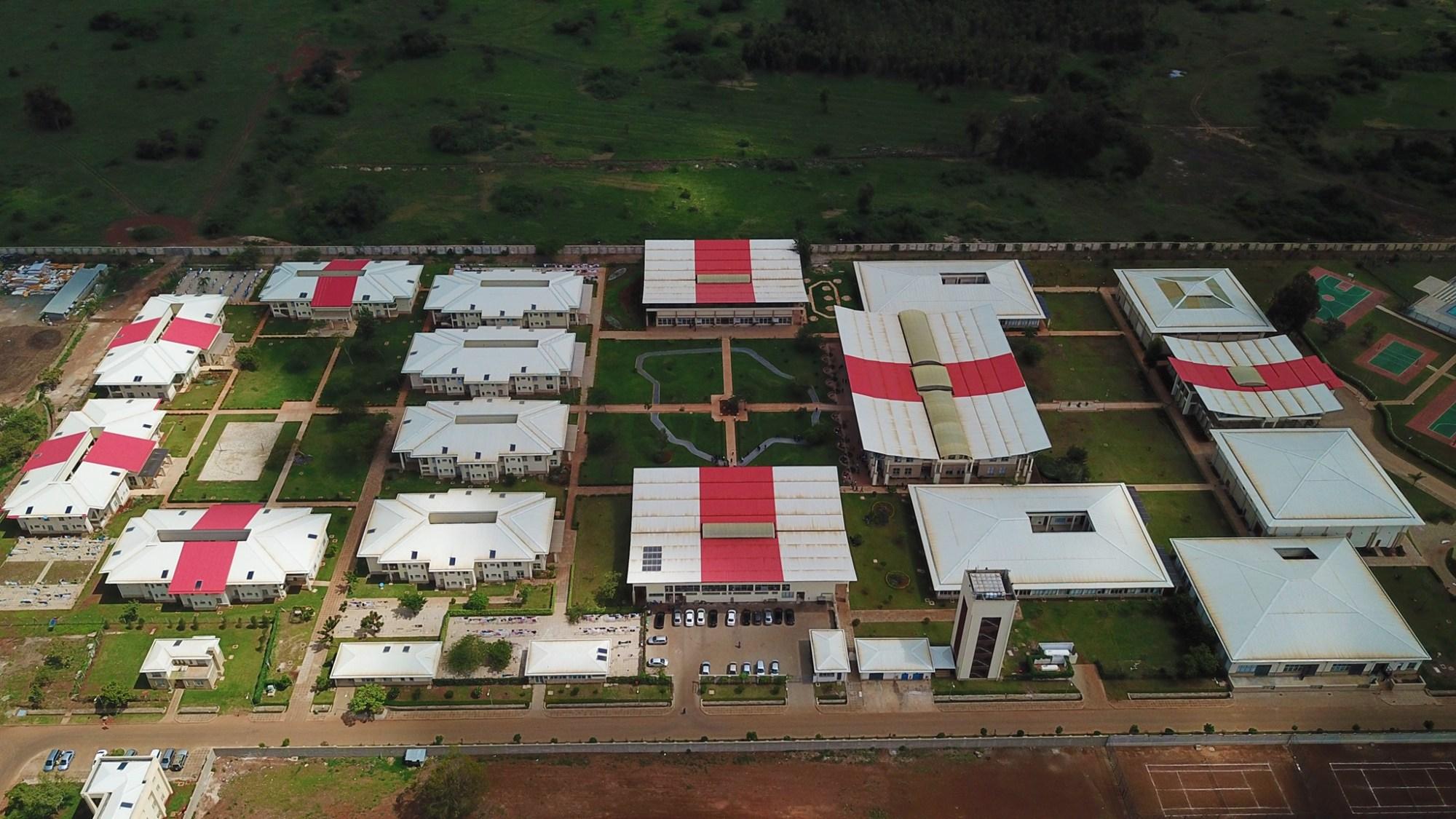 Mpesa Foundation Academy Aerial view photos