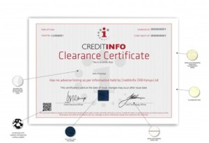 how to be cleared from CRB and get your certificate from metropol or creditinfo