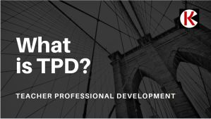 How Teachers Professional Development (TPD) works