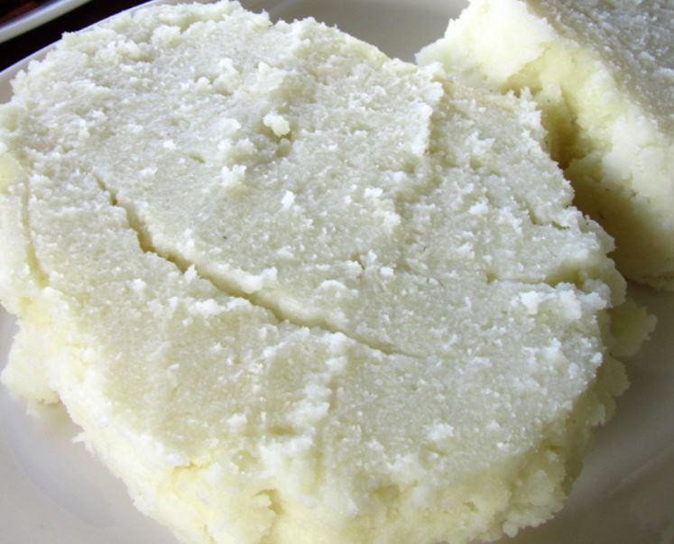 Kenyan Ugali meal, among the most common foods in kenya