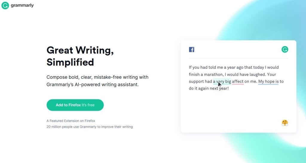 Grammarly Plagiarism and grammar checker tool