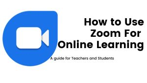 Teach Online with Zoom Education