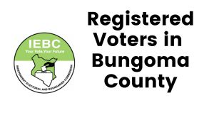 IEBC Bungoma County Registered Voters