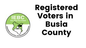 IEBC Busia County Registered Voters