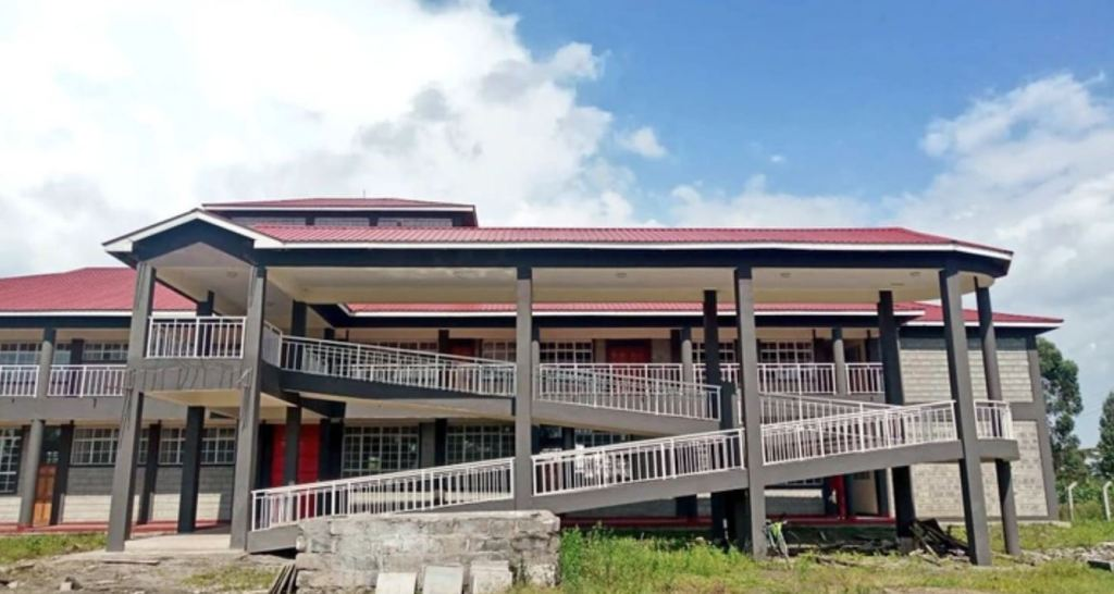 Bahati Technical Vocational Training Institute cdf building