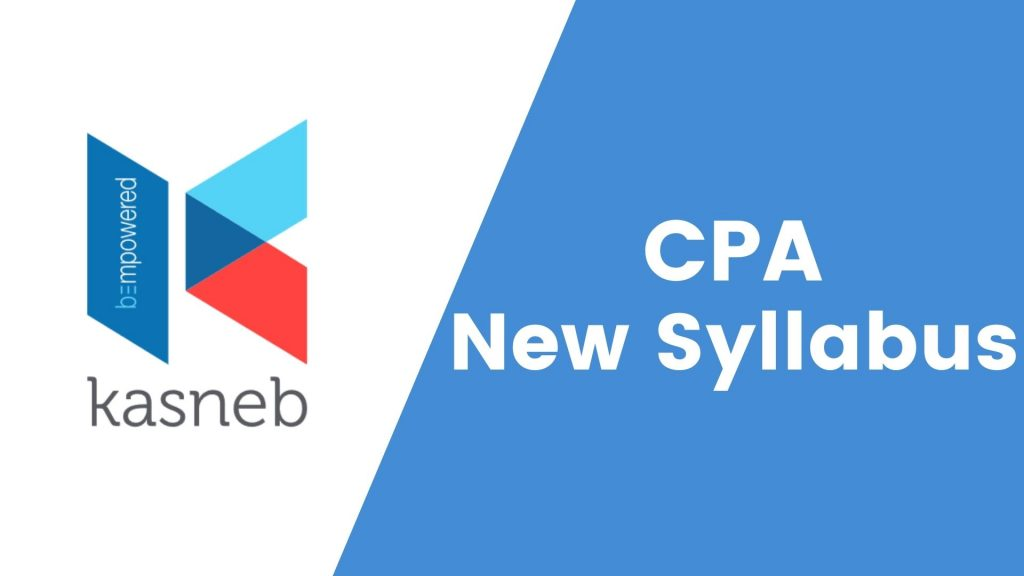 CPA new syllabus examination levels and exemptions