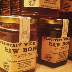 raw wildflower local flagstaff honey jars Honey FAQ
