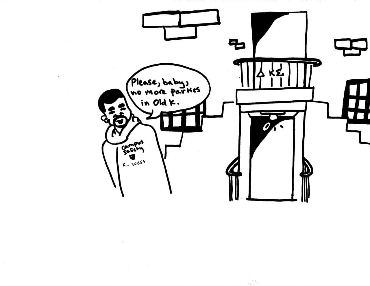 Editorial Cartoon — The Kenyon Collegian