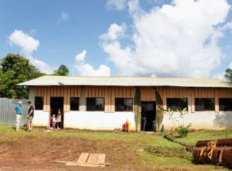 Jungle church we visited on our mission to the northern region of Costa Rica.