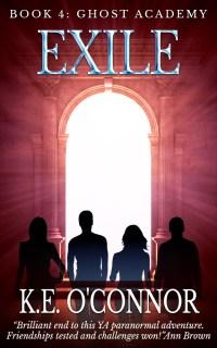 Exile YA paranormal book
