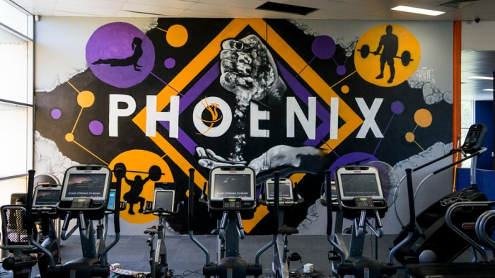Phoenix Health Club Mural Keo Match