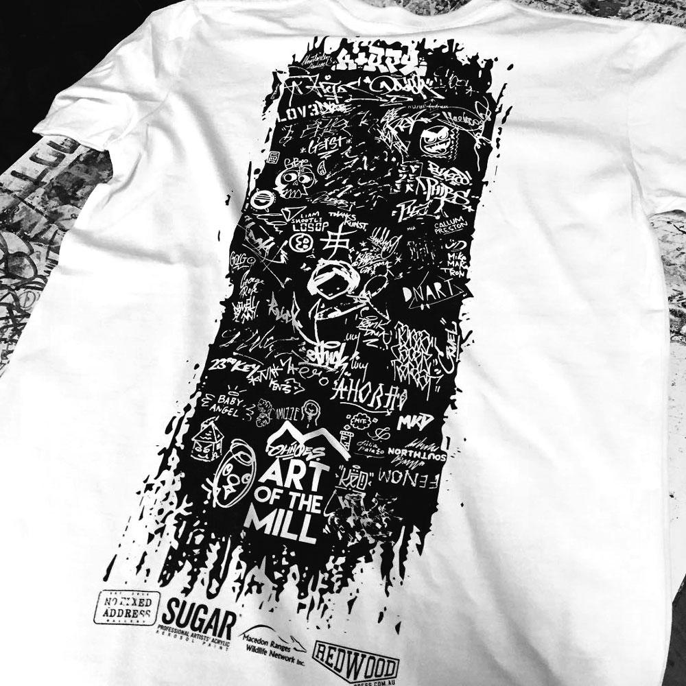 ART-OF-THEMILL - T-Shirt (tshirt print: redwoodpress)