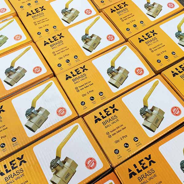 Alex Product Packaging by Keon Designs