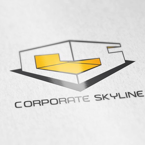 Corporate Skyline Logo Design 1 by Keon Designs