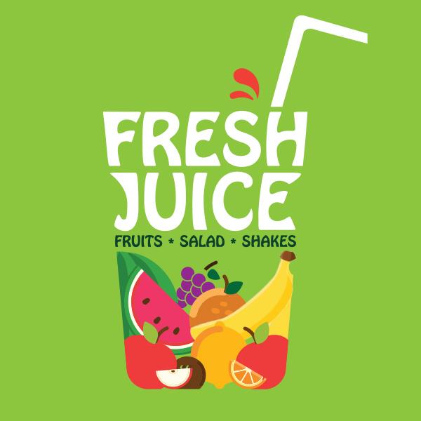 Fresh Juice Logo Design by Keon Designs 01