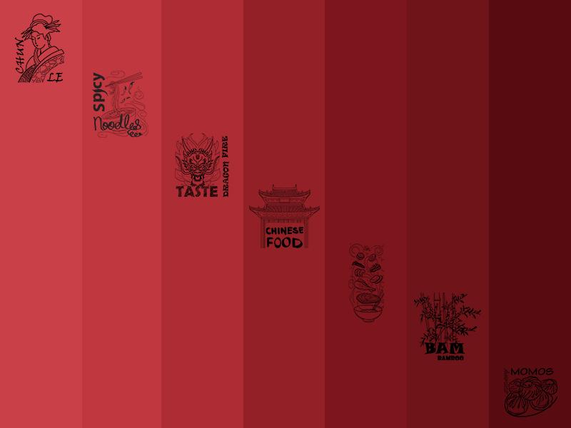 Food Outlet Design Wall Paper Design
