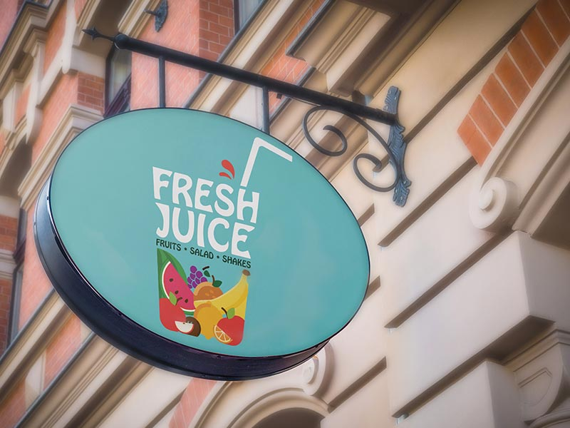 keon designs fresh juice grahic