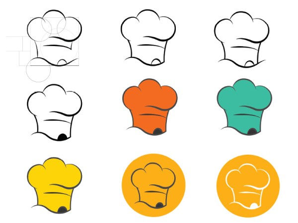 Build-variations-of-Genie-Chef-Logo-by-Keon-Designs