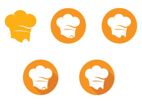 Color-Variations-of-Genie-Chef-Logo-by-Keon-Designs