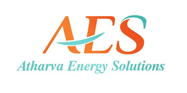 AES or Atharva Energy Solutions Logo Design Ideation by Keon Designs
