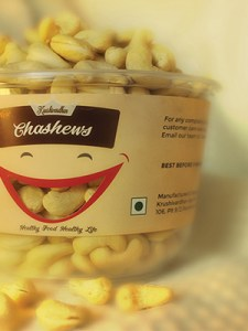 Cashew Packaging Design for Krushivardhan AgroTech a client of Keon Designs, Pandharpur, Rural Maharashtra, India