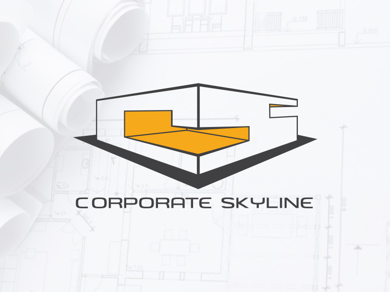 Logo Design Ideation for CSPL or Corporate Skyline Private Limited an Corporate Interior Design Consultancy, a client of Keon Designs
