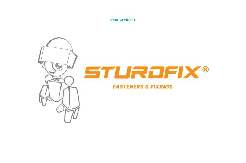 Brand Identity and Mascot Designed by Keon Designs for Sturdfix