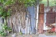Makeshift Fence, El Zonte El Salvador