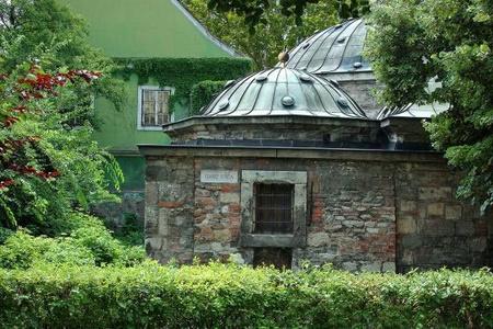 A Király gyógyfürdő medenceterének kupolája Fotó: Budapest Gyógyfürdői és Hévizei Zrt.