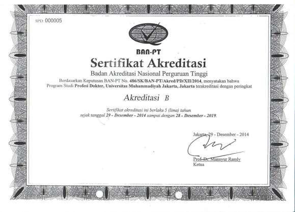 Sertifikat Akreditas