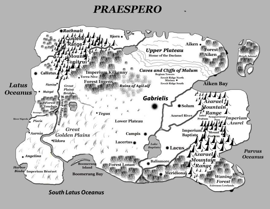 Praespero Map