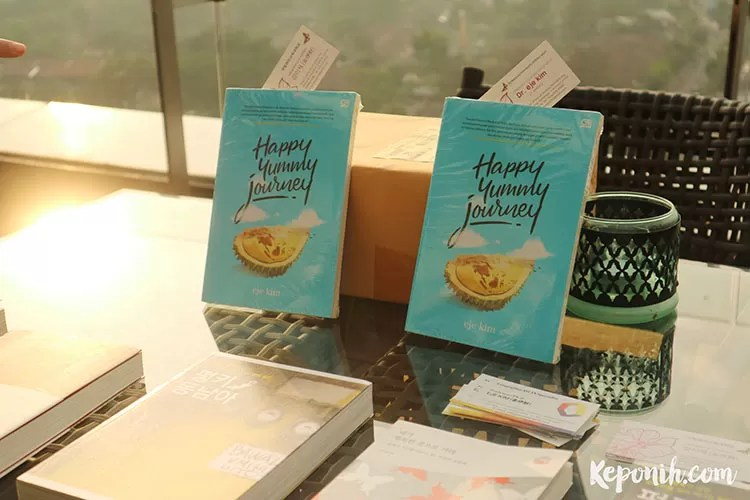 happy yummy journey, launching buku, blogger, travel blog, blogger buku