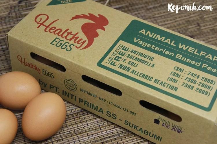 egg review, review telur sehat, telur sehat, telur anti alergi
