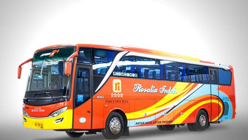 Bus Rosalia Indah - Jember - Ciputat - Merak - Executive