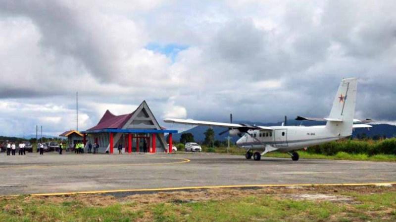 Bandara Sibisa di Toba Samosir - Penerbangan Gunung Sitoli - Toba Samosir