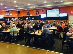 Enjoying the game at Kep's Sports Bar & Grill in Washington, Illinois