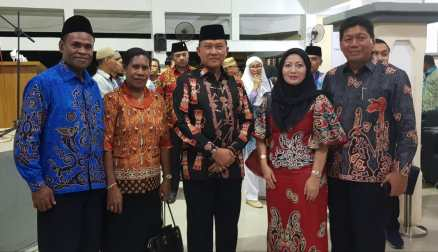 Pelepasan Jemaah Calon Haji Provinsi Papua thn 2018