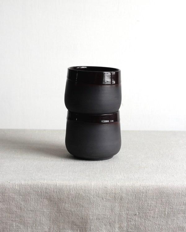 black porcelain