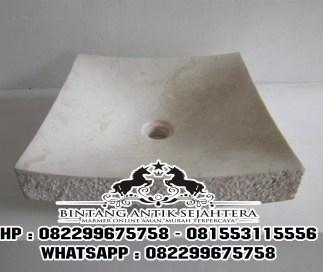 Wastafel Marmer Lengkung | Jual Wastafel Marmer Lengkung